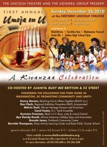 Umoja on U Kwanzaa Celebration