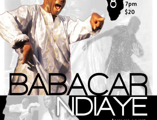 Babacar N'Diaye in Washington DC!